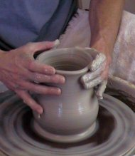 How to Make Homemade Clay Pottery on the Wheel