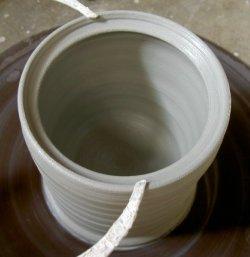 pottery kitchen canister set stoneware