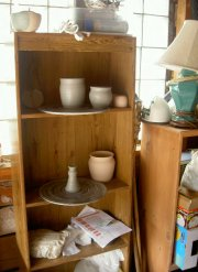 ceramic pottery supplies storage