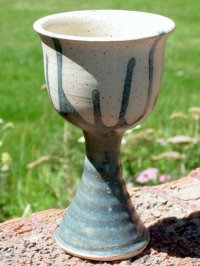 clay pot project - goblet ceramic images