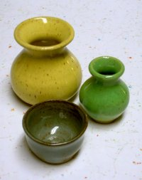 clay pot projects - mini pots ceramic images