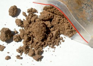 how to make homemade clay, clay sample