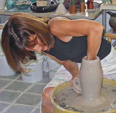 pottery beginners class