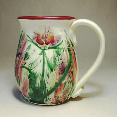 Large Thistle Mug