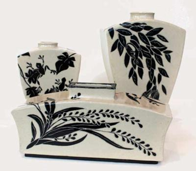 Patty Storms, Lakeside Pottery Sgraffito