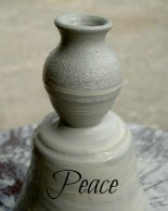 peace pot pottery