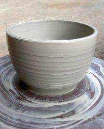 ceramic floor vase in two parts, bottom