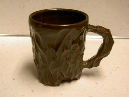 pottery coffee mugs clay pot pattern