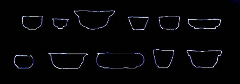 clay pot patterns bowls
