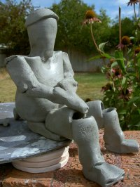 clay pot people ceramic images