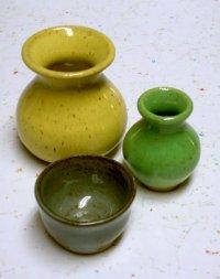 clay pot projects - mini pots ceramic images