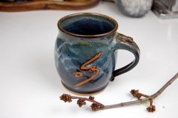 Custom Ceramic Coffee Mugs by Page Pottery