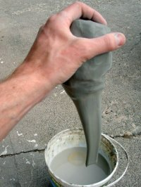 large coffee mugs pulling a handle making clay pottery