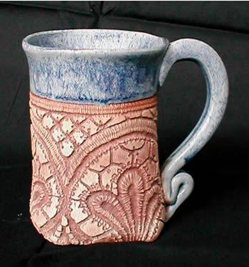 Lacey Blue Jean Mug