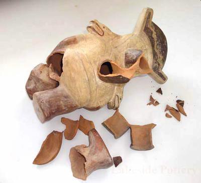 Moch antique pitcher - broken